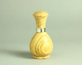 Perfume Atomizer in Olive Wood, Perfume Atomiser, Wooden Perfume Spray Bottle
