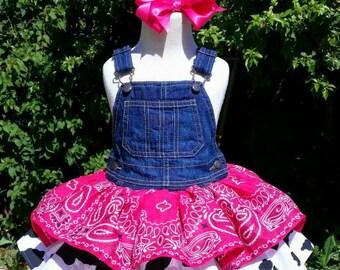Bandana Cowgirl Dress