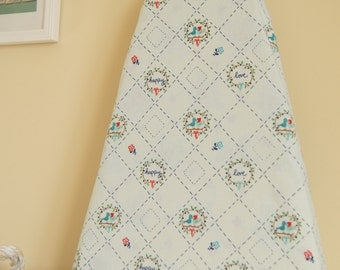 Ironing Board Cover - Country Birds in Aqua - Riley Blake