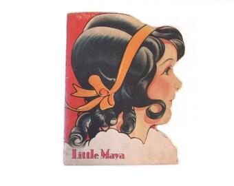 Little Maya - 1929 - McLouglin shape book - Rare
