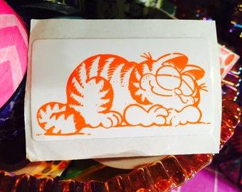 Rare Vintage 1980s Garfield Sticker