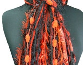 Georgia Bulldogs colors - College Scarves Fringe Scarf - Black and Red