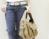 New Year SALE - 20% OFF Mini Classic in Khaki / Sling bag / Messenger / Crossbody Bags / Hobo / Handbags / Purses / For Her / Women / Kids