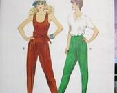 1442  KWIK SEW Pattern       Misses  Pants Jumpsuit Sizes XS  S  M  L