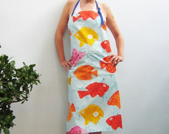 Apron TROPICAL SEA  for Exotic Fish, Scuba Diving Specialists and Travelers, under 50 usd