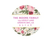 Personalized Return Labels by Pretty Smitten - FLORAL Collection