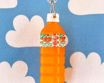 Pop Bottle Necklace - Orange