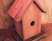 Teak Birdhouse Keepsake Box