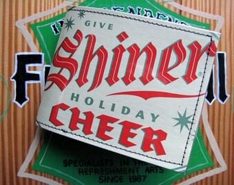 PRICE REDUCED Shiner Holiday Cheer Wallet