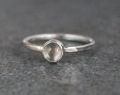 Rings, Labradorite Ring, Labradorite Stacking Ring, Simple Labradorite Ring, Natural Labradorite Ring, Silver Ring, Emma's Jewels