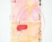 Contemporary Mixed Media Monoprint : VaguelyRemembered