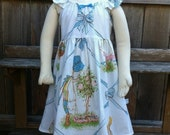 Holly Hobbie Childrens Dress Size 3 Recycled
