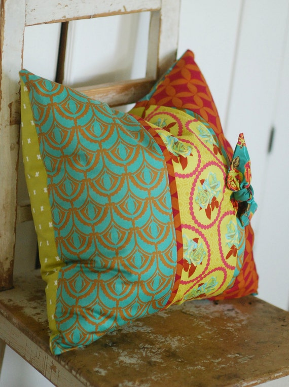 Bohemian PillowsTeal Decorative Pillows Teal Boho Pillows