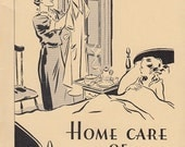 Home Care of Communicable Diseases 1936 Booklet by John Hancock Mutual Life Insurance Mumps Whooping Cough Scarlet Fever