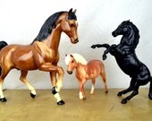 Vintage Breyer Horses - Lot of Three