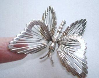 Sterling 925 Butterfly  Brooch