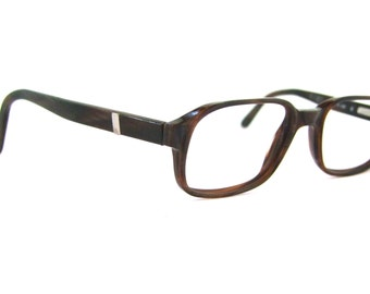Stunning Rodenstock Brand , Two Tone EYEGLASSES 1980s Geekey at its best/  R5145