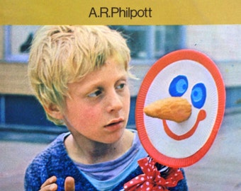 1972 LET'S MAKE PUPPETS By A. R. Philpott