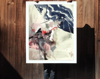 Disguise .  extra large wall art . giclee print