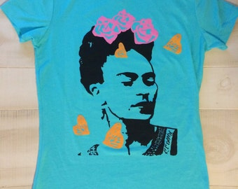 Turqoise T-Shirt Frida