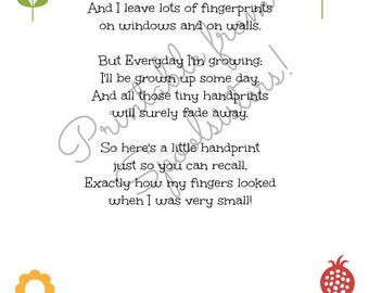 Mothers Day Handprint Printable
