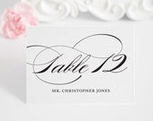 Wedding Place Cards Escort Cards or Seating Cards - Marriage Design - Deposit to Get Started