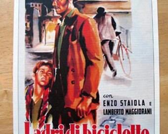 Ladri di Biciclette poster 10x13