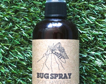 Organic Bug Spray - Natural Skin Care