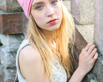 Baby Pink Turban Headband, Girly Pink Headband, Pink Hair band, Girl's Hair Accessory