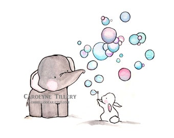 Bubbles  -- Archival Print