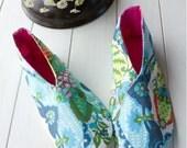 no 673 Winter Woman's Kimono Shoes PDF Pattern