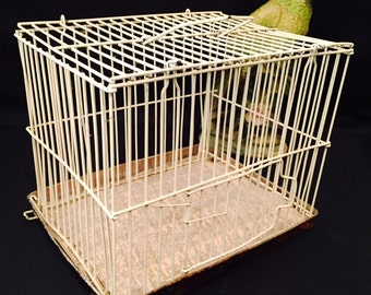 Small Wire Animal Pet Bird Cage Home Decoration SALE