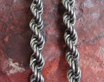 O/S Sterling silver Italian Rope Chain