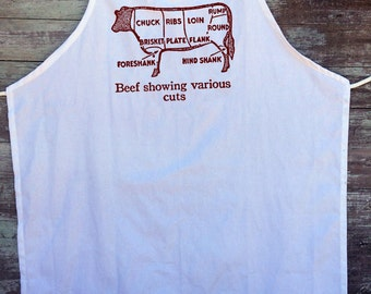 Cuts of Beef Apron!