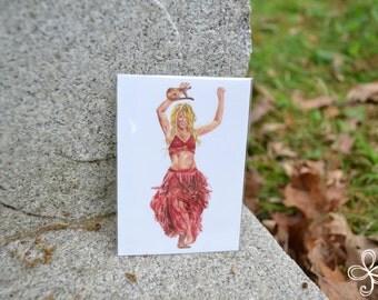 Terpsichore Mini Print - Pocket Goddess