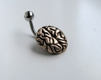 Belly button ring brain