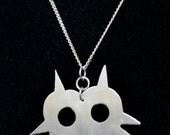 Mask Pendant - Handmade - Metalwork - Video Game Jewelry