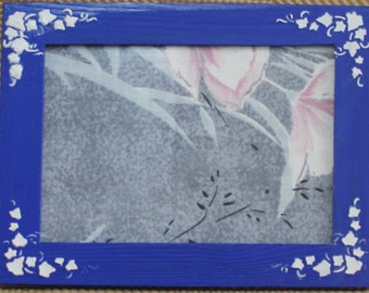 8.30x6.30 Blue Picture Frame