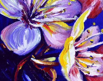 Sakura, A4 Fine Art Cherry Blossom Painting Print