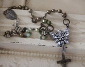 Vintage Cross Necklace ~ Vintage Restyled Jewelry