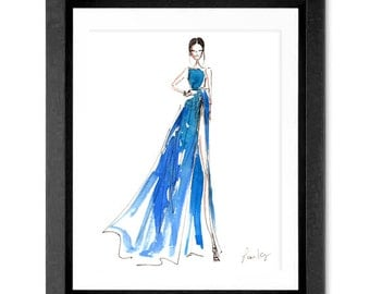 Limited Edition Print, Fashion illustration print