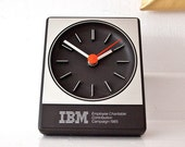 Mid Century IBM Quartz Desk Clock