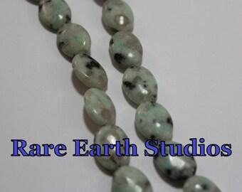 14x10 Green Quartz Beads 60315092