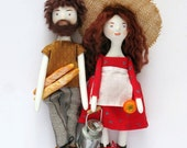 Personalized dolls // Couple