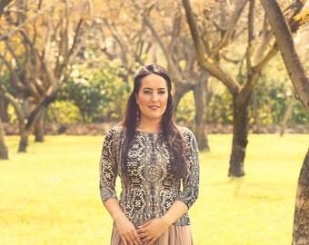 Elegant blouse,Formal shirt,Office blouse,Wedding guest top,Beige cotton blouse,Soft cotton blouse,Colorblock shirt,Dressy tops women