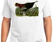 Wild Turkey 02 Bird Retro Men & Ladies T-shirt - Gift for Bird Lovers and Ornithologist (idc006)