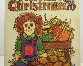 50% off clearance sale! Have a Natural Christmas '76, vintage book