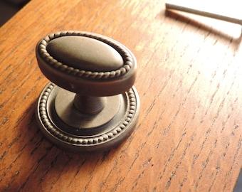 Hardware  Cabinet pull 1 Knob  Drawer Pull NOS Hardware  Furniture Hardware Drawer Pull