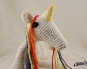 Rainbow Barfing Unicorn Amigurumi Plush