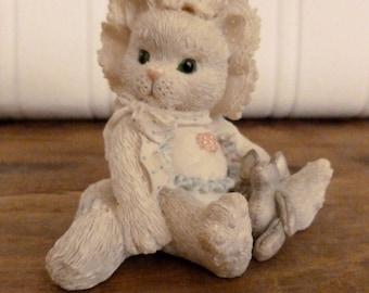 Enesco Baby Girl Calico Kitty - Resin Cat Figurine - Priscilla Hillman Kitty Cat